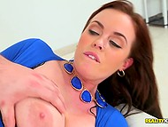 Hot boss with amazing assets is ready to forgive employee's mistakes in exchange of good fuck 5