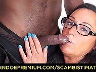 Italian mature let husband and three black boys nicely stuff all her welcoming holes 6
