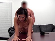 Inexperienced colleen comes to casting for adults and agent should teach her everything 9