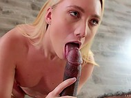 Stunning slut AJ Applegate was so seductive that black photographer wanted to taste her cunny