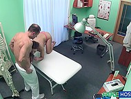 No resistance from love so doctor dares to go forward show his cock in patient's pussy 4