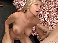 Barbie with cute face was asking for a hard cock to calm down her unbridled passion 9