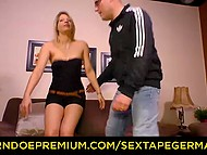 There's nobody before the camera just sexy MILF and her husband so why can't they fuck 5