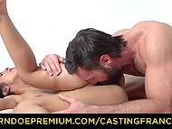 French Don Juan tricked another lecher into fucking promising her a career in porn 10