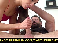 French Don Juan tricked another lecher into fucking promising her a career in porn 5