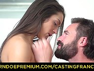 French Don Juan tricked another lecher into fucking promising her a career in porn 6