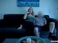 Stepbrother fucks girl and she doesn't suspect that he will fill smooth snatch with sperm 4