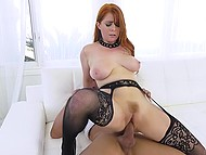 Enchanting redhead Penny Pax has an insatiable pussy that should be fucked very often