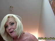 After masturbation in toilet, mature woman wanted to jump on lover's prick till creampie 6