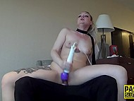 Poor blonde brutally fucked by dominant guy as she wanted to experience something new 9