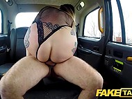 Age can't wither taxi driver with grey hair and when Ava Austen gets into his car, he must have sex with her