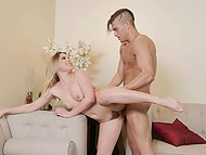 Sexually attractive Aubrey Sinclair appreciated Xander Corvus courtship and gave him pussy
