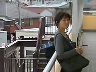 Stepdaughter goes to college and young fucker comes to Japanese MILF to satisfy her pussy 8