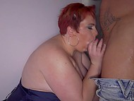 BBW with fire-red hair asked Nacho Vidal to give her a practical lesson of fucking 4