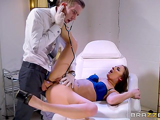 Doctor Danny D has to test anal opening of moaning patient with his main instrument