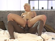 Interracial sex with black man is the best thing ever for gorgeous blonde Blanche Bradburry 7