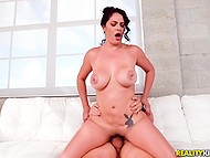 Cuban MILF Cristal Caraballo with amazing assets cheats on husband riding neighbor's cock 4