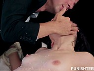Guy satisfies wax fetish with help of skinny escort girl Jenna Reid who was ready for all 7