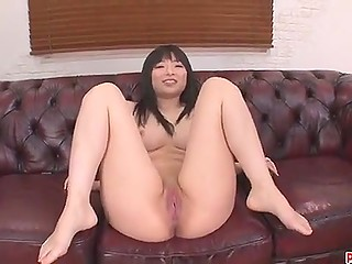 Powerful vibrator is the only thing that winsome Japanese girl needs to bring smooth pussy to incredible squirting