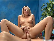 If young woman allows masseur to be carnal with her so why can't master cum inside her pussy