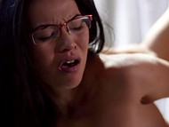 Bull and his exotic girl have virtual sex but they really imagine it and experience unforgettable pleasure 7
