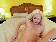 Nice POV scene with lovely blonde Elsa Jean who is able to satisfy partner till cumshot 6