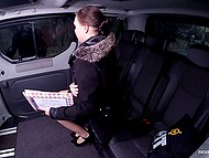 One time Czech driver fucked one of the clients and now her cute stepdaughter wants the same