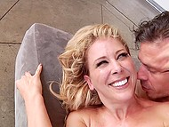 Passion covered middle-aged hussy and lover so they moved on to drown in the ocean of anal lust 6
