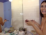 Porn-agent has no time to wait for model to put makeup on and take shower, he wants blowjob right here right now 5