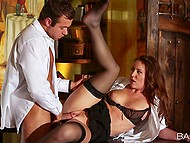 Young man intentionally hired nympho who moans load and loves cumshots over her body 11