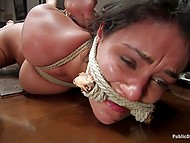 Bohemians have some whimsy - they love tormenting hogtied naked maid during dinner 11