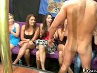 Many girls are ready to suck strippers' cocks and guys are glad to satisfy their oral desires 6