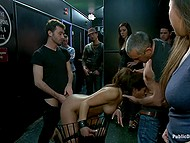 Guys had never seen such a publicly available love before and drove her into sexual satisfaction