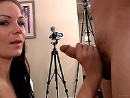 Girl sucks cock at porn casting and this is one of the things for agent to pay attention 6