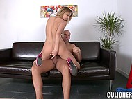 Hungarian Aleksa Diamond knows her way around banging cause she tests new cock each day 10