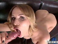 Hungarian Aleksa Diamond knows her way around banging cause she tests new cock each day 5