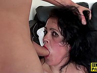 British master properly dominates over cougar Montse Swinger who loves hard anal fuck