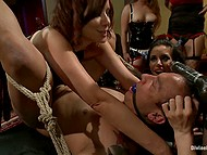 A boy on his first anal the filming of the entourage pornstars with strap-ons