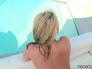 Owner of long fuckstick nicely penetrates thick blonde pornstar Sarah Vandella on sofa 7