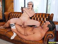 Smart guy acquaints blonde stepsister River Fox with his own impressive joystick 6