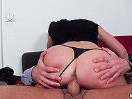 Spontaneous sex with stranger for money ends for brunette Aruna Aghora with nice cumshot 8