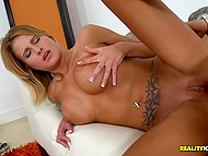 Unstoppable sex with skillful actor drives chesty babe Jessica Nyx to new level of satisfaction 9