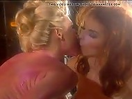 Super-sexy Danish lesbians' porn story that starts with body-oiling and finishes with straponing 5