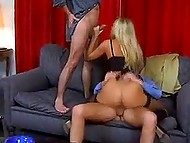Danish MILF Katja Kean with round hooters has ass fucked becoming a full-bied woman finally 4