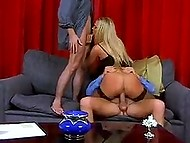 Danish MILF Katja Kean with round hooters has ass fucked becoming a full-bied woman finally 5