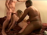 Black bull is invited to film couple having sex but he fucks girl turning guy into cuckold