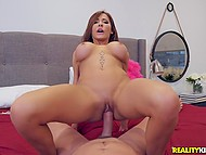 German pornstar Madison Ivy with hefty breasts deserves to...