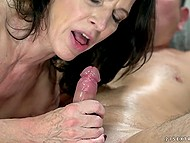Mature business lady likes to work in an oldschool way with younger entrepreneurs 10