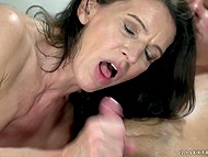 Mature business lady likes to work in an oldschool way with younger entrepreneurs 11