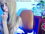 Young webcam model's tits are so amazing that she can draw guys' attention without any problem 9